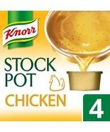 Knorr Chicken Stock Pot 4 x 28g - $4.71