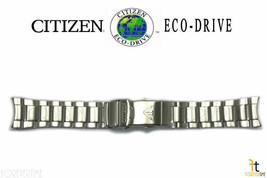 Citizen Eco-Drive Bn0100-51e 23mm Acciaio Inox Cinturino Orologio E168-s... - $168.37