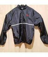 Sports Illustrated Polyester Jacket XL Windbreaker Red Black Embroidered - $22.00