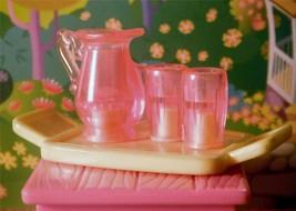 Fisher Price Loving Family Dollhouse Lemonade Drink Set Summer Snack Tray 1998 - $5.93