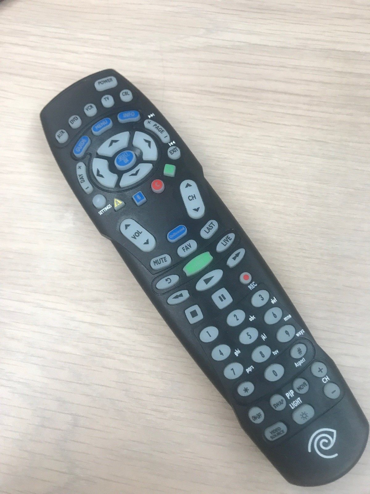 Spectrum RC122 TV Universal Remote Control Time Warner Charter -Tested- (V1)