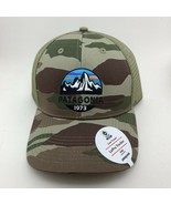 Patagonia Sage Camouflage Fitz Roy Scope Lopro Trucker Hat Mesh Snapback New - $34.29