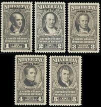 RG83-99, Mint OG LH Silver Tax Stamps - Very Fresh! Cat $1508.00 - Stuar... - $1,095.00