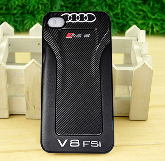 AUDI RS 5 V8 FSI IPhone 4 5 5C SE6 6+ 7 7+ Samsung S5 S6 S7 Note3 4 5 HTC Case for sale  USA