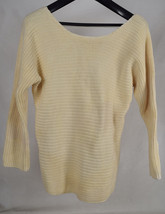 Vince Cable-knit LS Sweater Yellow L Womens - $84.15