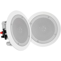 "Pyle Home(R) PDICBT852RD 8"" Bluetooth(R) Ceiling/Wall Speakers - $248.99"