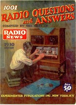 Radio News 1001 Radio Questions and Answers 1930 * Ham Radio * CDROM * PDF - $8.99