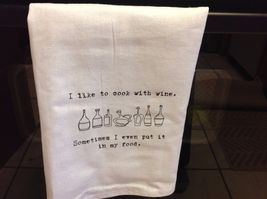 The Best Message Kitchen Gift Towel  Made in USA by Hand image 8