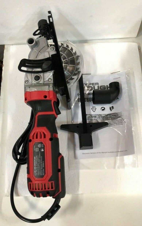 Hyper Tough 5.8-Amp 4.5-Inch Mini Circular Saw - US SELLER - $104.71