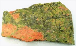 Unakite Jasper 1 Gemstone Slab Cabbing Rough - $4.60