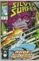 SILVER SURFER #51 VF+ INFINITY GAUNTLET Crossover  Marvel Comics 1st Pri... - $4.94
