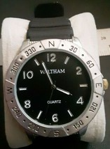 Men's Waltham Quartz Watch WTH29138PC21 New Battery  - $15.83