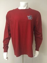 American Eagle Outfiters Men Size L/G Hot Rodders Red Long Sleeve T Shirt - $398,71 MXN