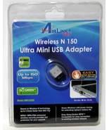SALE! Airlink 101 AWLL5099 Wireless N 150 Ultra Mini USB Adapter Open Box - $4.90