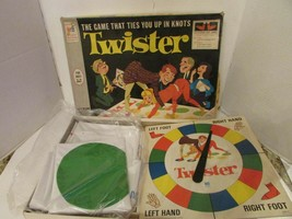 VTG 1966 ORIGINAL MILTON BRADLEY TWISTER GAME #4645 COMPLETE - $13.67