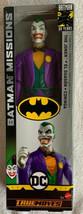 """DC BATMAN MISSIONS TRUE MOVES THE JOKER PURPLE SUIT 12"""" RARE VHTF ACTION... - $19.79"""