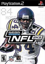 Video Game Playstation PS2 SEGA Sports NFL 2k2 2001 Replacement Case - $1.98