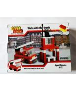 Best Lock Fire Station Construction Set 87pcs Building Set - $22.99