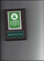 Boston Celtics Plaque Nba Champions Champs Basketball Nba - $3.95