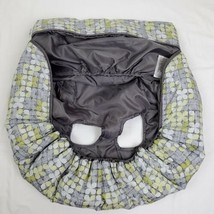 Summer Infant Cushy Cart Cover Gray Yellow Shopping Cart Baby Safety San... - $20.00