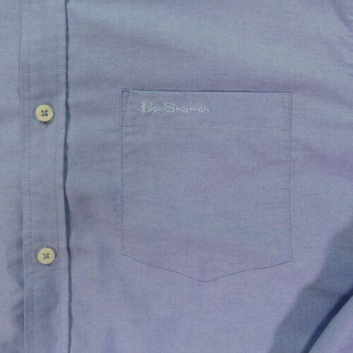"""Ben Sherman """"The Original Oxford"""" XXL Light Blue Long Sleeve Button Up"""
