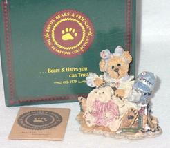 Boyd Bearstone Resin Bears Wanda & Gert A Little Off The Top Figurine #227719 image 3