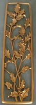 Mid Century Syroco Molded Plastic Wall Hanging #3063 - GORGEOUS DETAIL -... - $29.69