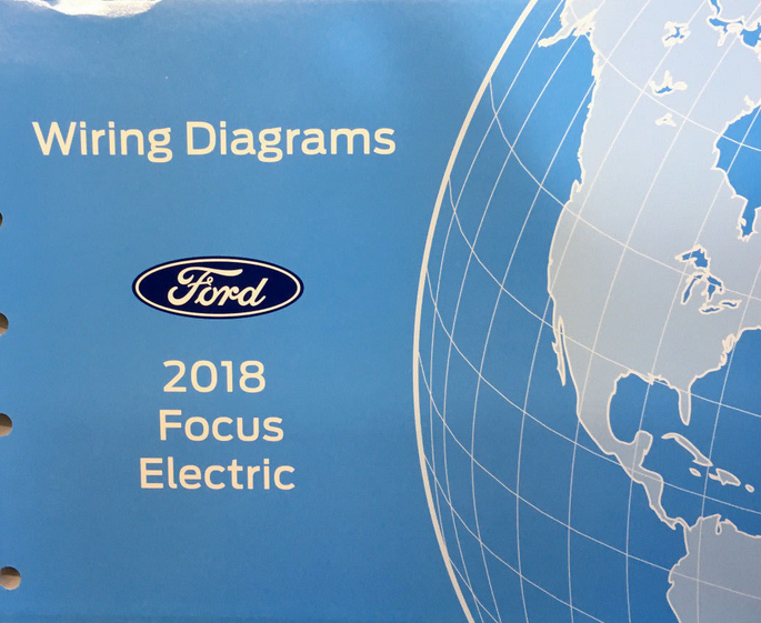 Primary image for 2018 Ford FOCUS Electric Wiring Electrical Diagram Manual OEM Factory EWD ETM