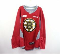 Reebok Center Ice Mens Size 56 Boston Bruins Stitched Practice Hockey Je... - $79.15
