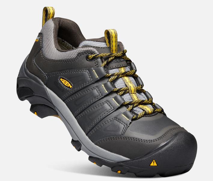 Keen Boulder Bas Taille US 11.5 M (D) Eu 45 Homme Wp Acier Orteil Travail Shoes image 2