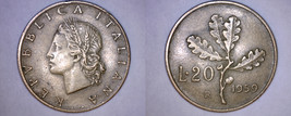 1959-R Italian 20 Lire World Coin - Italy - $24.99