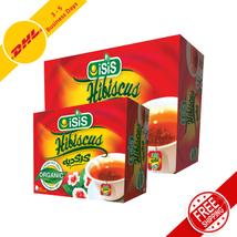 100% Organic Egyptian ISIS Herbal Hibiscus Tea Healthy Drinks 50,100 Bags - $20.36+
