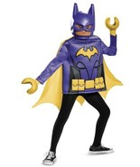 LEGO Batman Movie BATGIRL Tunic & Mask Costume - Girl's  Medium (7/8) Ro... - $24.94