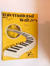 International Waltzes No 1 -  waltz music book arranged by Joseph P. Elsnic - $29.99