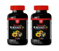 cholesterol pills - BLACKSEED OIL - stop bloating supplement 2BOTTLE - $39.18