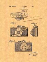 Camera Patent Print - $7.95+
