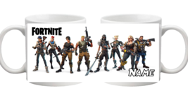 Personalised Fortnite Character Mug Name Coffee Cup Tea Gift Birthday Ch... - $9.08