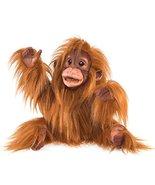 Folkmanis Baby Orangutan Hand Puppet, Orange-Brown - $44.99
