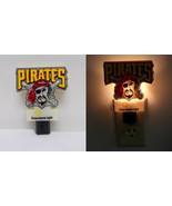 VINTAGE WORKING 1990s Pittsburgh Pirates Duquesne Light Nightlight - $18.55