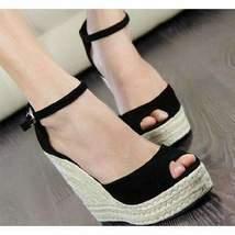 Sexy Ankle Strap Women Wedges Platform Sandals - $41.05