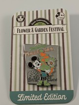 Disney 2020 Flower And Garden Festival Mickey Passholder Limited Edition... - $26.72