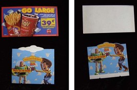 Disney Toy Story Display Lot 1990s Coca Cola Coke Burger King Animated Storybook - $19.99