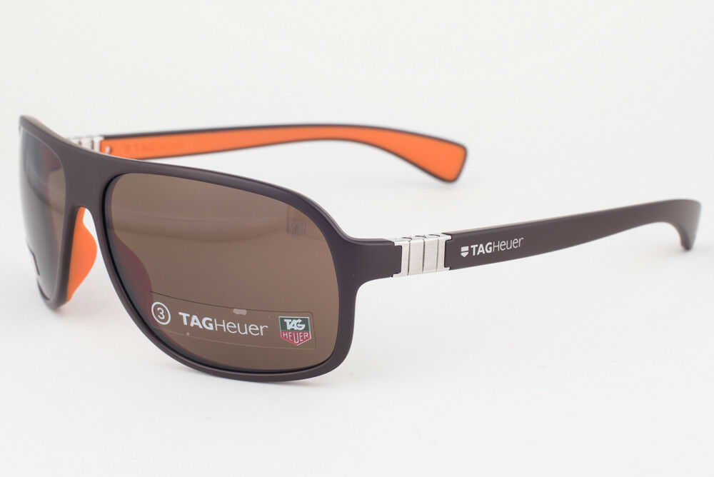 Primary image for Tag Heuer Legend 9303 Dark Brown / Brown Sunglasses TH9303 205