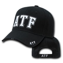 Atf Alcohol Tobacco Firearms Police Black Hat Cap - $31.58