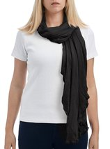 Women's Spring Fall Fashion Lightweight Chiffon Scarf Vest(2-in-1 Style) - $12.86