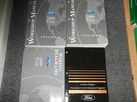 2009 ford flex workshop service repair manual set with ewd + pced oem fa... - $188.32