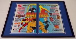 1995 K Mart / Marvel Action Hour 12x18 Framed ORIGINAL Advertising Display - $65.09
