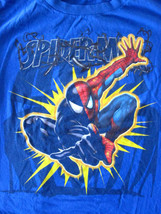 Boys Marvel Super Hero Spider-Man Short Sleeve Shirt Sz XL - $4.99