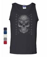 Bandana Skull Face Tank Top Gangsta Badass Swag Urban Skeleton Sleeveless - $11.12 - $21.99