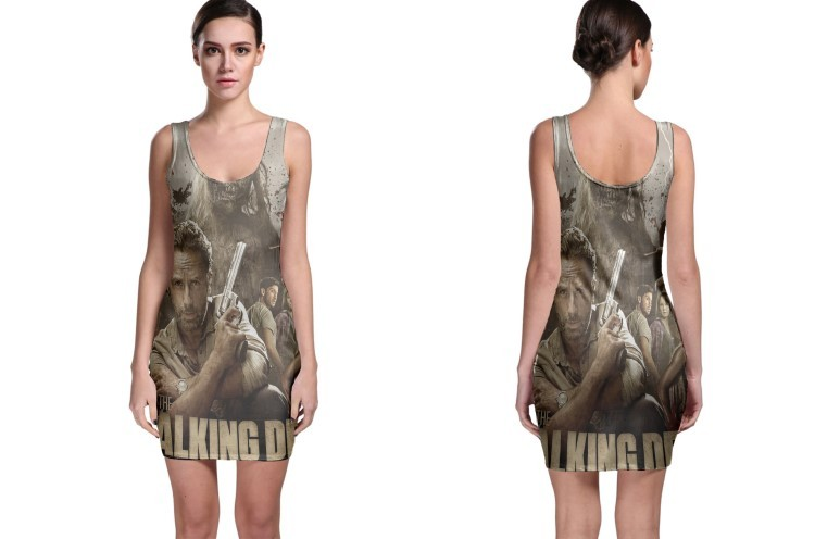 Bodycon dress the walking dead collage
